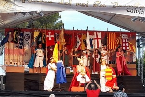 Image Pictures of the rei En Jaume Festivities 2019