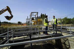Image Calvià treatment plant's reform begins